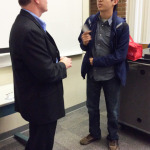 Ringlein shares entrepreneurial advice with OCC students