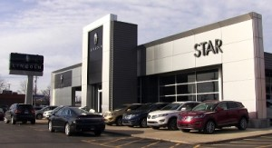 Star Lincoln dealership in Southfield
